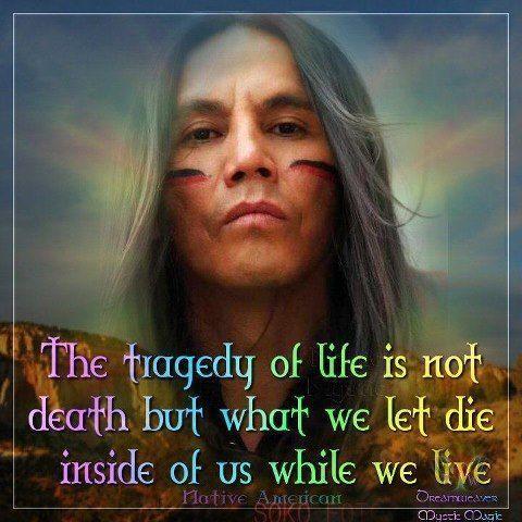 Célèbre 40 amerindiens sagesse amerindienne KT02